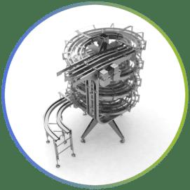 Espirales de elevación y descenso múltiples canales - Inprosy