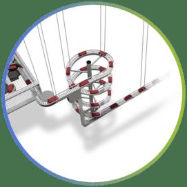 Espirales de elevación y descenso aéreos - Inprosy